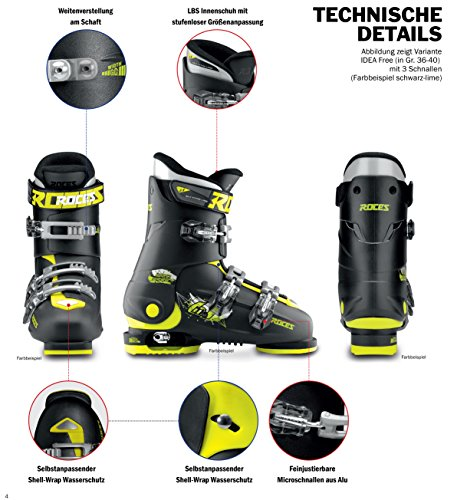 Roces Kinder Skischuhe Idea Up - 4