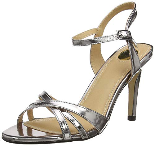 Buffalo Shoes 312703 METALLIC PU Knöchelriemchen Sandalen