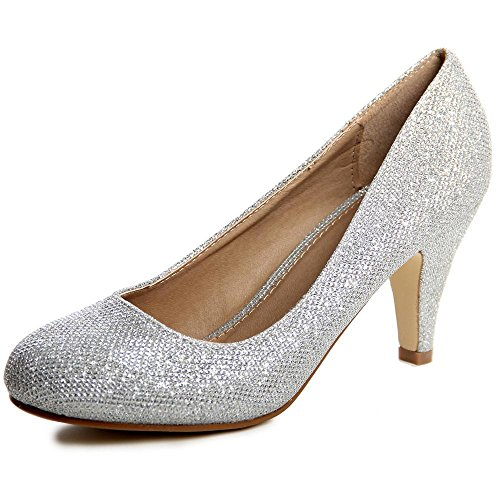 Damen Glitzer Pumps