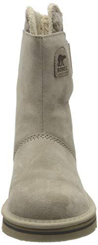 Sorel NEWBIE, Damen Halbschaft Stiefel, Beige (Silver Sage 103), 38.5 EU - 3