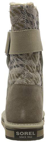 Sorel NEWBIE, Damen Halbschaft Stiefel, Beige (Silver Sage 103), 38.5 EU - 4