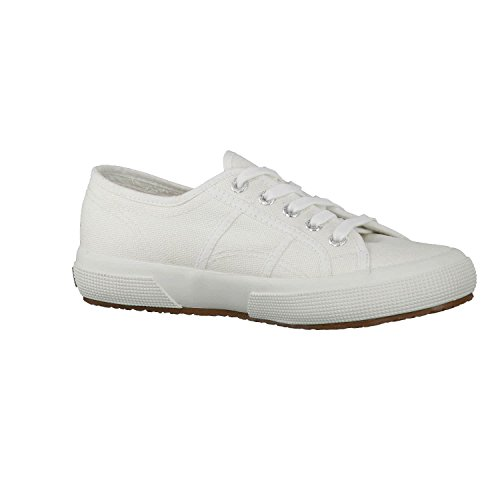 Superga COTU CLASSIC Unisex Sneaker, Weiß - 9