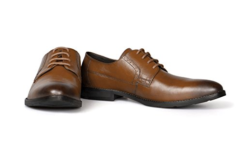 Vileano Businessschuhe Derby cognac