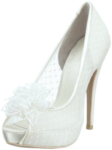 Menbur Wedding Adelia, Damen Peep-Toe Pumps