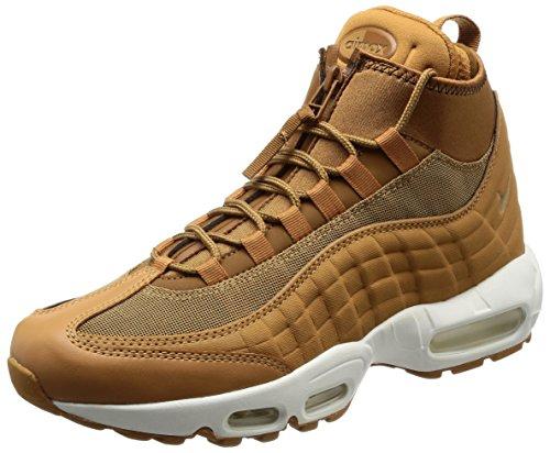 Nike Herren Air Max 95 Braun Leder/Textil Sneakerboot