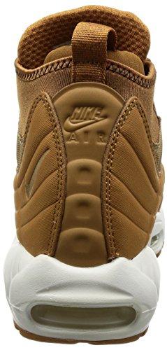 Nike Herren Air Max 95 Braun Leder/Textil Sneakerboot 44.5 - 2