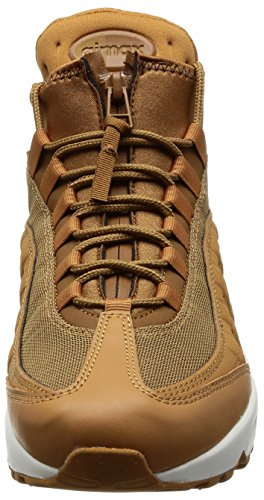 Nike Herren Air Max 95 Braun Leder/Textil Sneakerboot 44.5 - 3