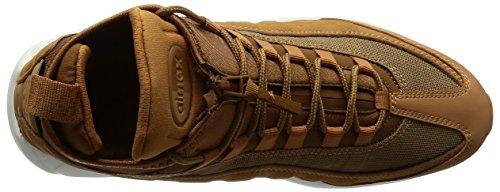 Nike Herren Air Max 95 Braun Leder/Textil Sneakerboot 44.5 - 6