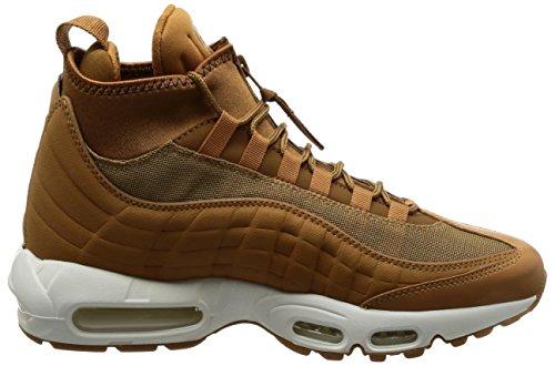 Nike Herren Air Max 95 Braun Leder/Textil Sneakerboot 44.5 - 7