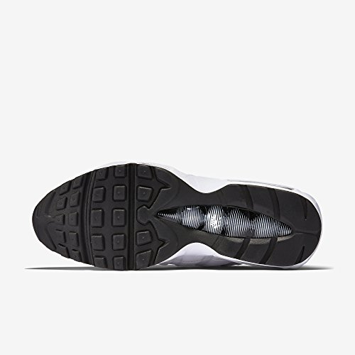 Nike Air Max '95, Herren Sneakers, Elfenbein (White/black/black), 44 EU - 2
