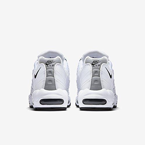 Nike Air Max '95, Herren Sneakers, Elfenbein (White/black/black), 44 EU - 6