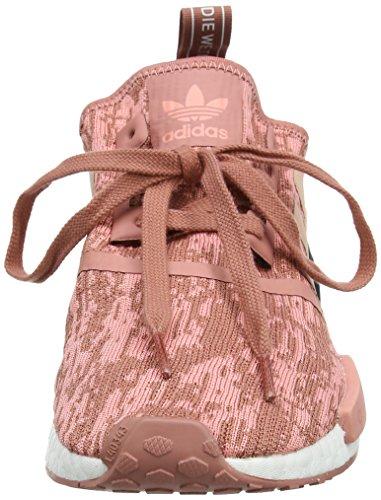 adidas Damen NMD_r1 W Sneakers, Braun (Raw Pink F15/Trace Pink F17/Legend Ink F17), 38 2/3 EU - 2