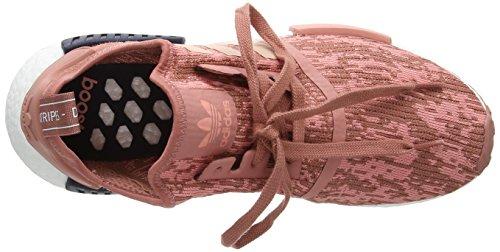 adidas Damen NMD_r1 W Sneakers, Braun (Raw Pink F15/Trace Pink F17/Legend Ink F17), 38 2/3 EU - 5