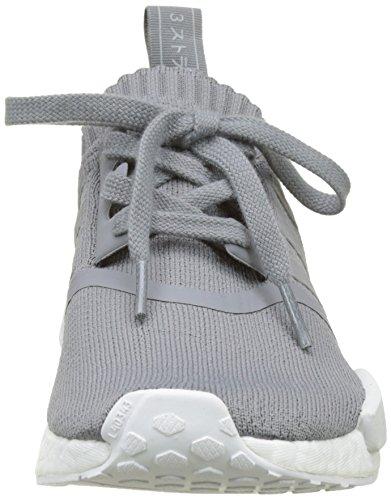 ADIDAS Damen NMD_R1 W PK Sneaker, Grau (Grey Three F17/Grey Three F17/Ftwr White), 39 1/3 EU - 2