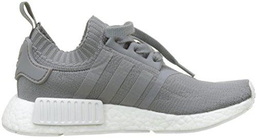ADIDAS Damen NMD_R1 W PK Sneaker, Grau (Grey Three F17/Grey Three F17/Ftwr White), 39 1/3 EU - 6