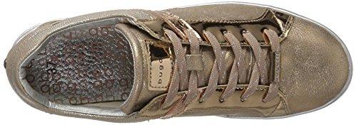 Bugatti Damen Sneaker Braun Metallic - 7