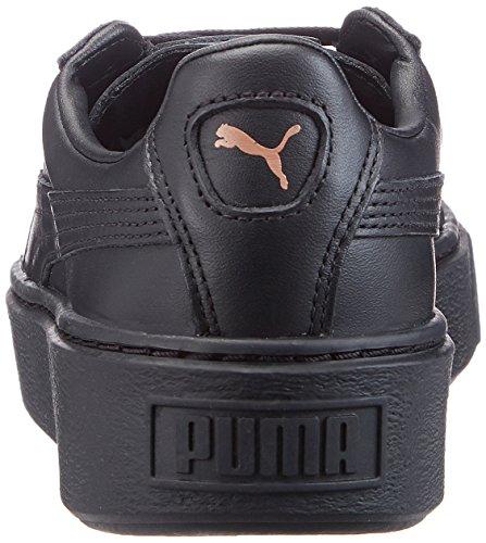 Puma Sneaker Schwarz Metallic Basket Platform - 2