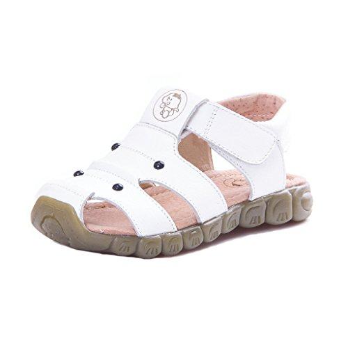 Eagsouni Unisex Kinder Sandalen aus weichem Leder