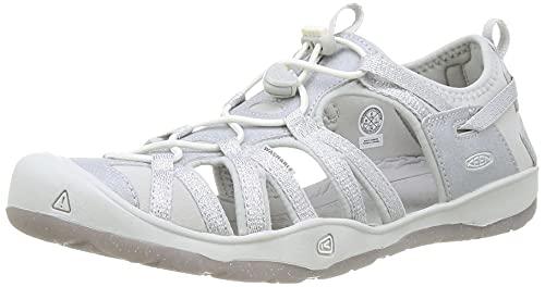 Keen Mädchen Outdoor Sandalen Moxie Silber/Weiß