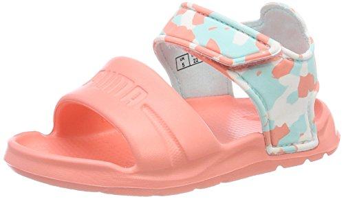 Puma Unisex-Kinder Wild Sandal Injex Camo Inf, Pink