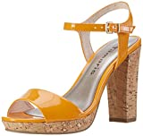 Tamaris Damen Offene Sandalen, Orange