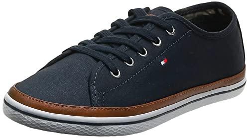 Tommy Hilfiger Damen Sneaker, Blau