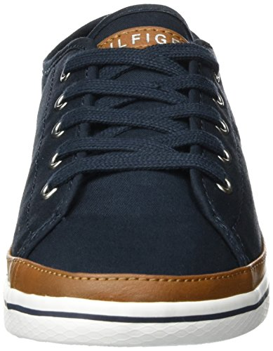 Tommy Hilfiger Damen K1285ESHA 6D Sneakers, Blau (Midnight 403), 39 EU - 2
