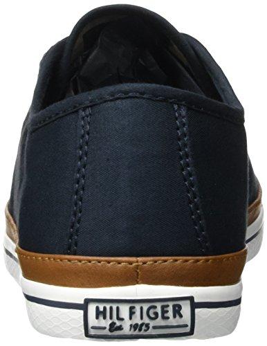 Tommy Hilfiger Damen K1285ESHA 6D Sneakers, Blau (Midnight 403), 39 EU - 3