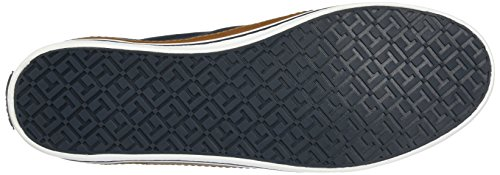 Tommy Hilfiger Damen K1285ESHA 6D Sneakers, Blau (Midnight 403), 39 EU - 4
