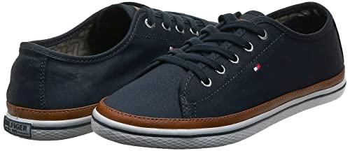 Tommy Hilfiger Damen K1285ESHA 6D Sneakers, Blau (Midnight 403), 39 EU - 7