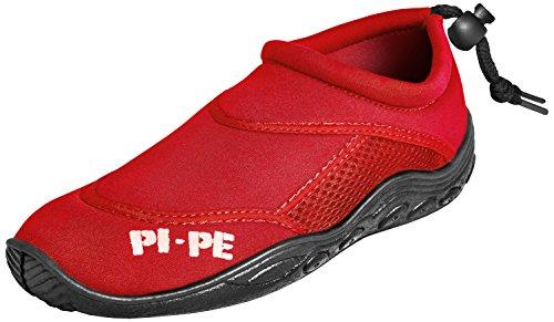 PI-PE Erwachsene Badeschuhe Active Aqua Shoes, Red