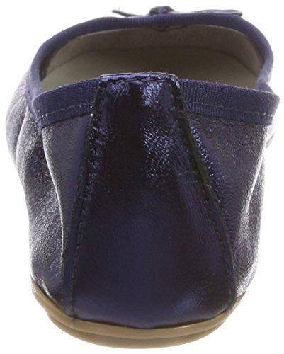 Tamaris Damen 22165 Geschlossene Ballerinas, Blau (Navy Metallic), 41 EU - 3