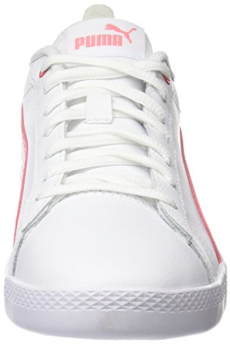 Puma Damen Smash Wns v2 L Sneaker, Weiß White-Shell Pink, 40.5 EU - 2