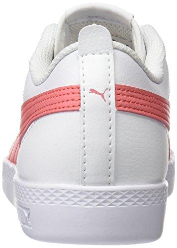 Puma Damen Smash Wns v2 L Sneaker, Weiß White-Shell Pink, 40.5 EU - 3