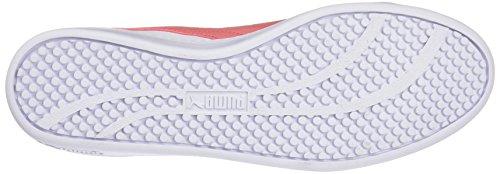 Puma Damen Smash Wns v2 L Sneaker, Weiß White-Shell Pink, 40.5 EU - 4