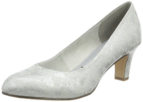 Tamaris Damen Pumps, Silber