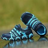 SITAILE Kinderschuhe Outdoor Sport Sneaker Wander Schuhe Turnschuhe für Kinder Jungen Mädchen,Blau,EU 34 - 5