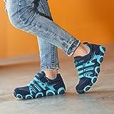 SITAILE Kinderschuhe Outdoor Sport Sneaker Wander Schuhe Turnschuhe für Kinder Jungen Mädchen,Blau,EU 34 - 6
