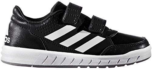adidas Unisex-Kinder AltaSport CF Sneakers, Schwarz