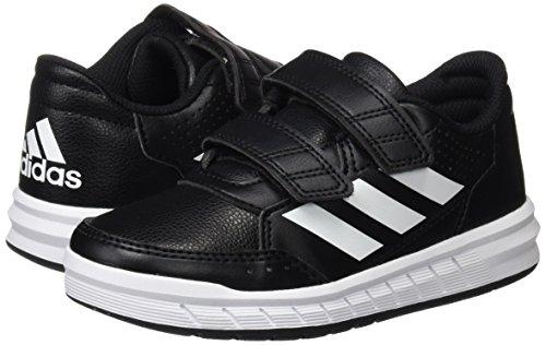 adidas Unisex-Kinder AltaSport CF Sneakers, Schwarz (Core Black/Footwear White), 36 EU - 2