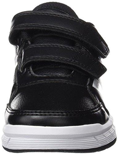 adidas Unisex-Kinder AltaSport CF Sneakers, Schwarz (Core Black/Footwear White), 36 EU - 4