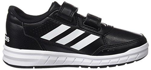 adidas Unisex-Kinder AltaSport CF Sneakers, Schwarz (Core Black/Footwear White), 36 EU - 6