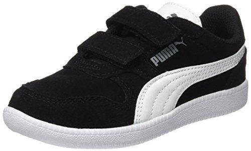 Puma Unisex-Kinder Icra Trainer SD V PS Sneaker, Schwarz Black-White