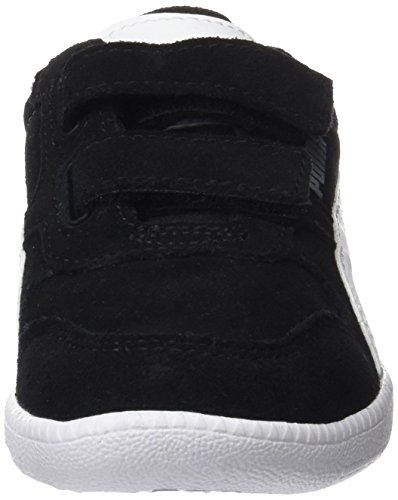 Puma Unisex-Kinder Icra Trainer SD V PS Sneaker, Schwarz Black-White, 34 EU - 2