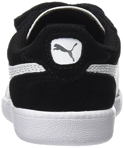 Puma Unisex-Kinder Icra Trainer SD V PS Sneaker, Schwarz Black-White, 34 EU - 3
