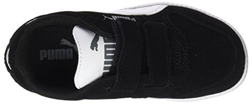 Puma Unisex-Kinder Icra Trainer SD V PS Sneaker, Schwarz Black-White, 34 EU - 5