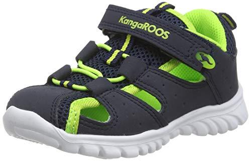 KangaROOS Rock Lite, Baby Lauflernschuhe, Blau