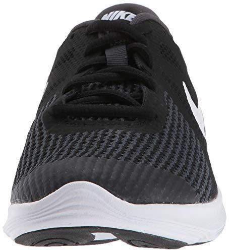 Nike Unisex-Kinder Laufschuh Revolution 4, Schwarz - 2