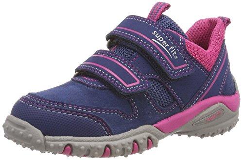 Superfit Mädchen SPORT4 Sneaker, Blau