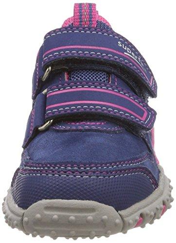 Superfit Mädchen SPORT4 Sneaker, Blau (Water Multi), 32 EU - 2